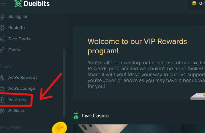 Welcome to duelbits VIP rewards program